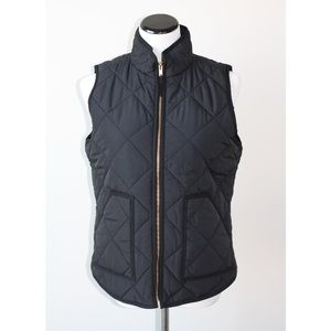 J.Crew Factory Quilted Puffer Vest Medium NWT